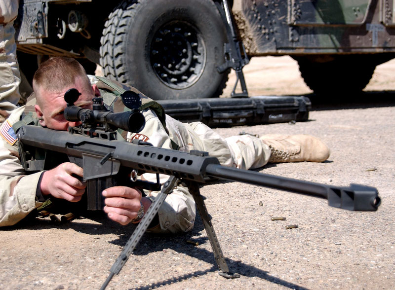 Barrett M82 .50BMG <b>sniper</b> rifle / Барретт М82 ...